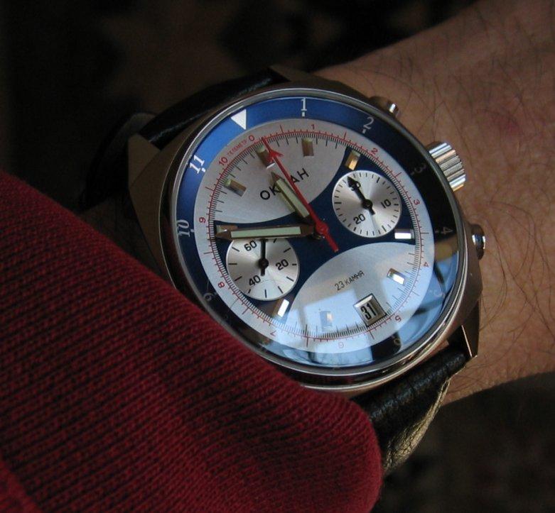 Quelle montre pour Vendredi 5 janvier 2007 ? Okean
